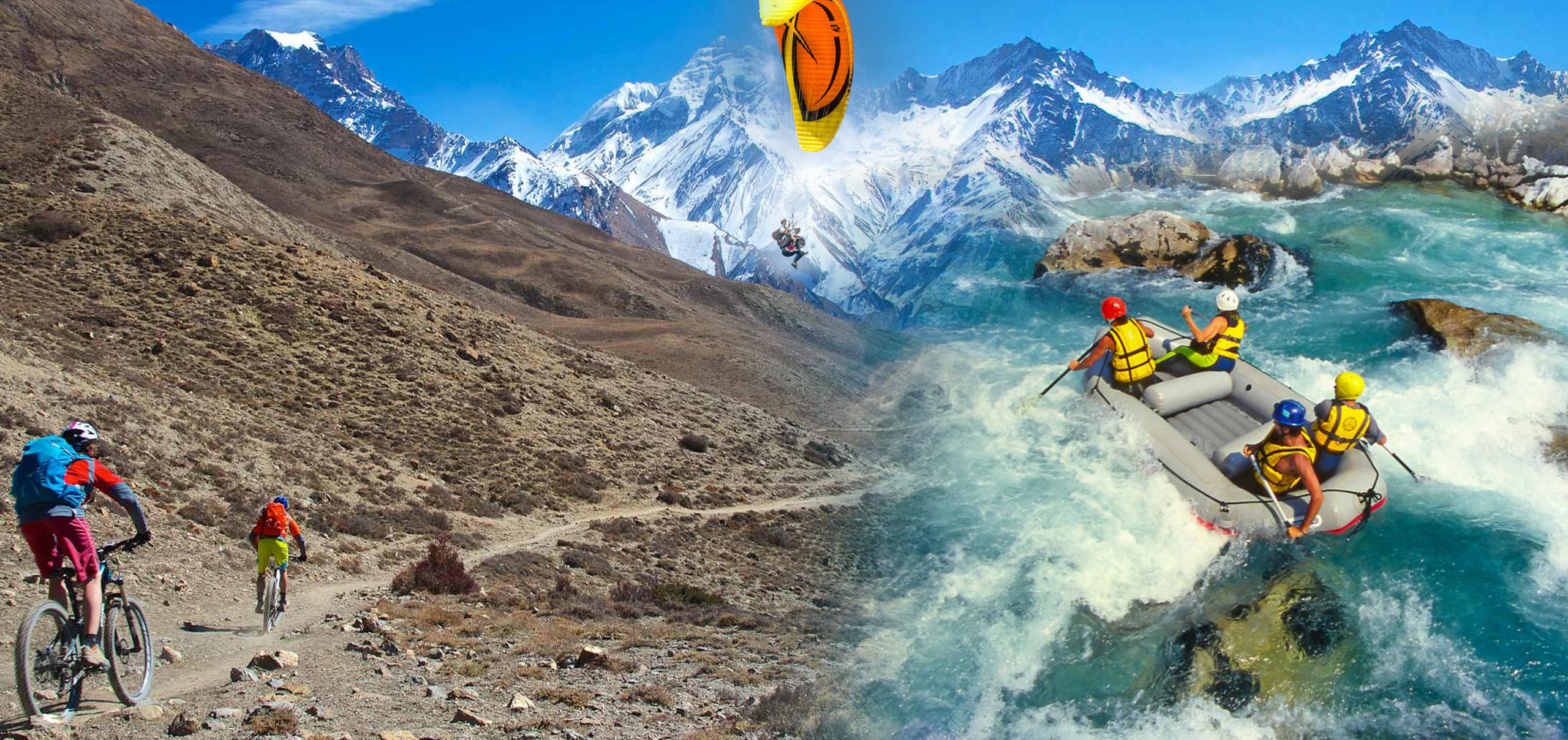 Venez découvrir les activités pleine nature au Népal (rafting...)