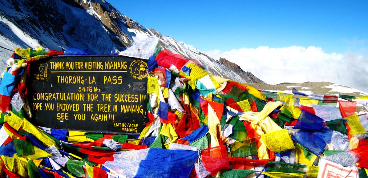 Vous êtes au sommet du tour des Annapurnas