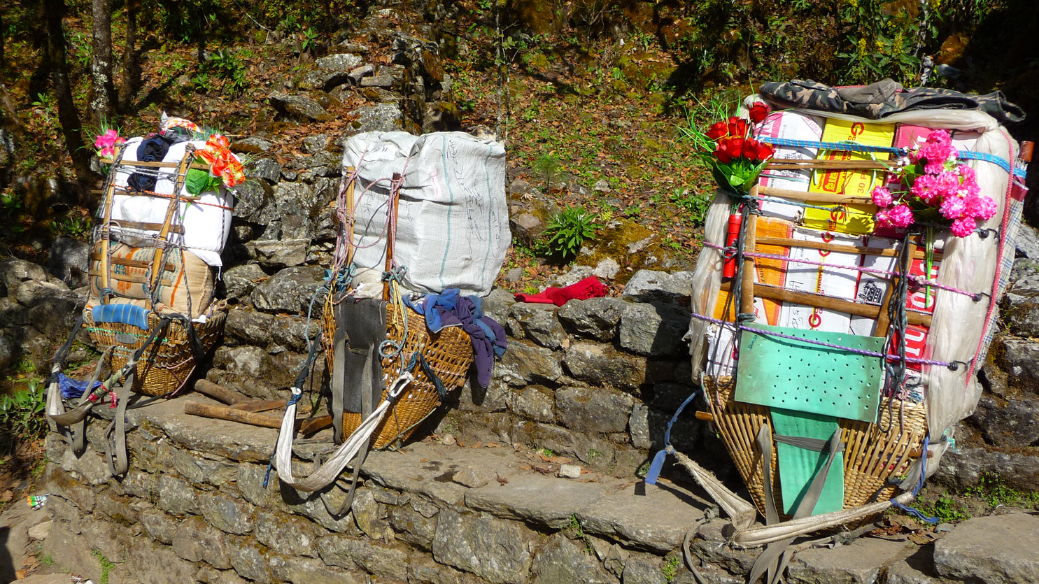 Portages népalais