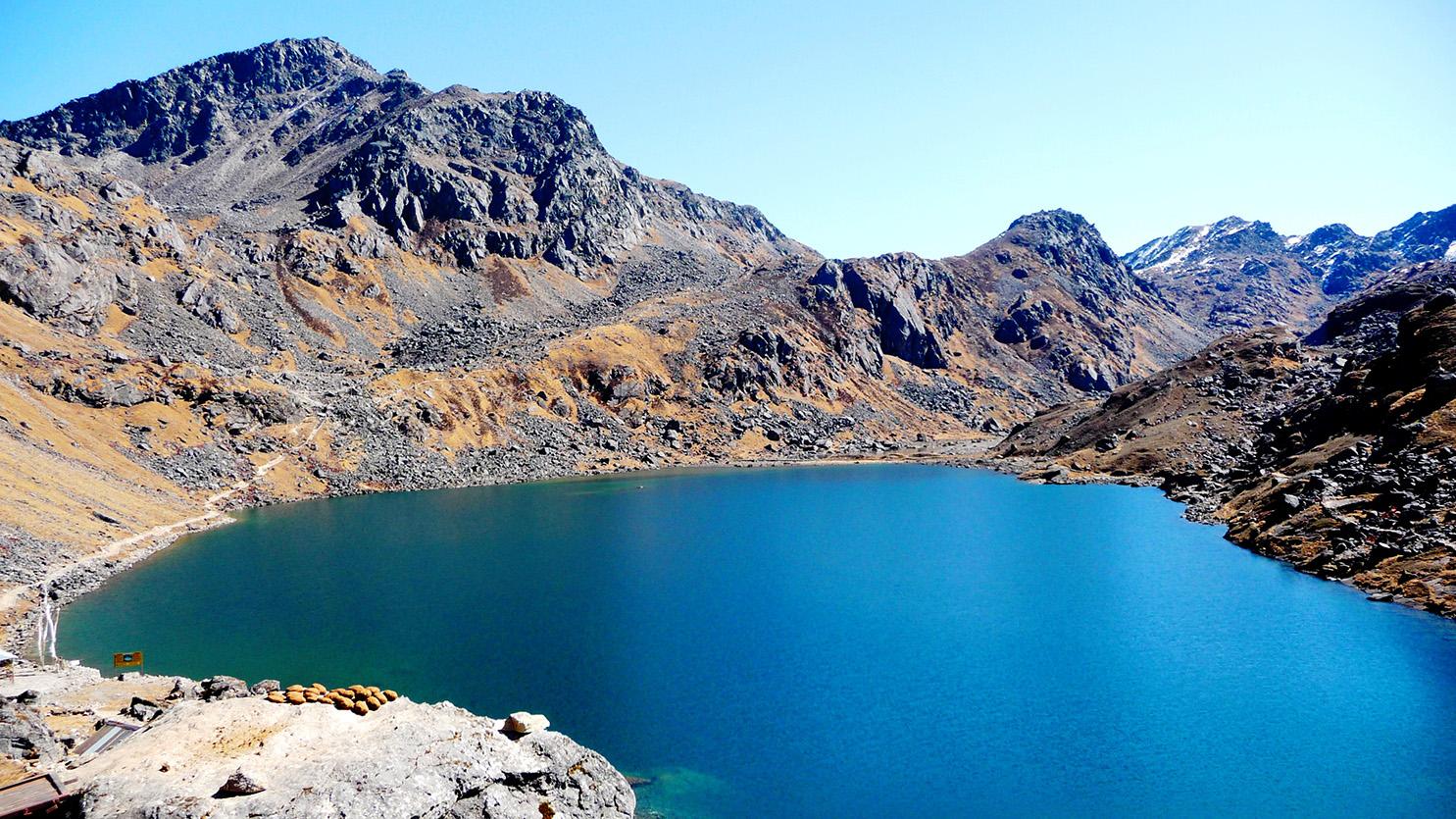 Lac sacré de Gosainkunda