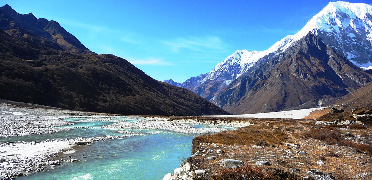 Au fond de la vallée du Langtang