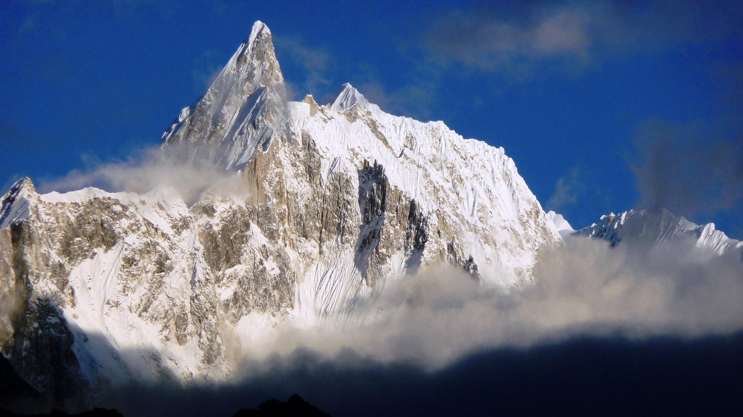 Magnifique panorama depuis Bimtang