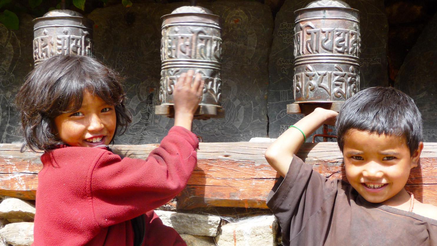 Sourires et moulins à prières - Venez à la rencontre des népalais